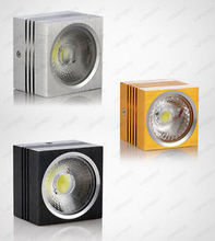 Elegant 10W Square LED NEW COB Chip Ceiling Light Lamp Fixture Bulb Easy Install(China)