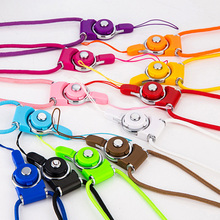 100pcs Phone Lanyard Cords Strap Cellphone Mobile Neck Chain Straps Key Keychain Charm DIY Rope For Xiaomi Redmi Note 3(China)