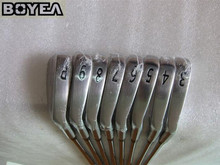 Brand New Boyea 714 Iron Set MB Golf Forged Irons Golf Clubs 3-9P Regular and Stiff Flex Steel Shaft With Head Cover