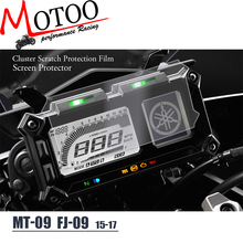 Motoo - Cluster Scratch Protection Film Screen Protector for Yamaha FJ-09 FJ09 FJ 09 MT-09 MT09 MT 09 TRACER SUPER TENERE(China)