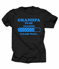 Gift For Grandfather T-Shirt Grandpa To Be Tee Shirt Baby Announcement Gift