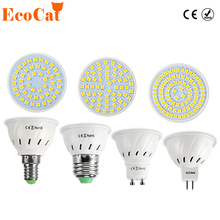 LED Lamp E27 220V 5730 5050 SMD 2835 Ampoule LED Spotlight GU10 Bombillas LED Bulb E27 MR16 Spot light Candle Luz MR16 Lampada(China)