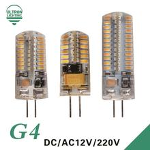 G4 LED SMD 3014 2835 AC DC 12V 220V 3W 5W 6W Replace 10w 20w 30w halogen lamp light 360 Beam Angle Christmas LED Bulb lamp