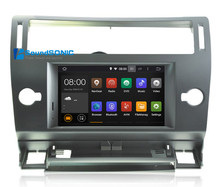 Pure Android 5.1.1 System HD For Citroen C4 C-Triomphe C-Quatre Car DVD GPS System Car Stereo System Media Multimedia system