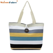 High Quality Fashion Lady Shopping Handbag Shoulder Canvas Bag Tote Purse Messenger