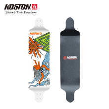 KOSTON Professional Downhill Longboard Deck High Quality Drop Down Long Skateboard Deck Ship Style 9 Ply Canadian Maple LD009