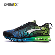 Onemix men's air cushion running shoes Breathable sneakers  original men athletic Outdoor sport shoes big size 42 43 44 45 46 47