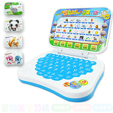 Children Learning Machines Toy Laptop Computer Russian English Language Kids Learning Machine Educational Tablets laptopToys(China)