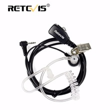 Retevis 1Pin PTT MIC Earpiece Covert Air Acoustic Tube Headset For Motorola Walkie Talkie T270/T4000/T5800/SX500/XTL446 C9027A