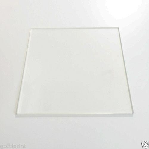 Reprap 3D printer spare parts accessory 220mm x 220mm Borosilicate Glass Plate Bed Flat Polished Edge for MK2 MK3<br><br>Aliexpress