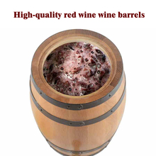 Oak Barrel Wooden Kegs Wine Decorative Beer Bar Photography Props Beer Brewing Equipment Homebrew Decoration Rice Bucket X64(China)