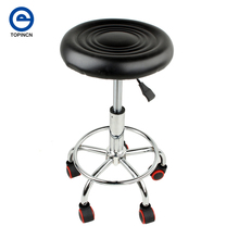 Top Quality PU Leather Modern Adjustable Bar Stool Swivel Chair Bar Chair Commercial Furniture Bar Tool Home Decor