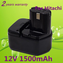 New 12V Ni-CD 1.5Ah Replacement Power Tool Battery for Hitachi EB1212S EB1214L EB1214S EB1230,EB1230H,EB1230X,EB1233X 323226