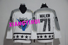 Free shipping 2017 High Quality New Style Alles hot starly Ice Hockey Jerseys MALKIN #71