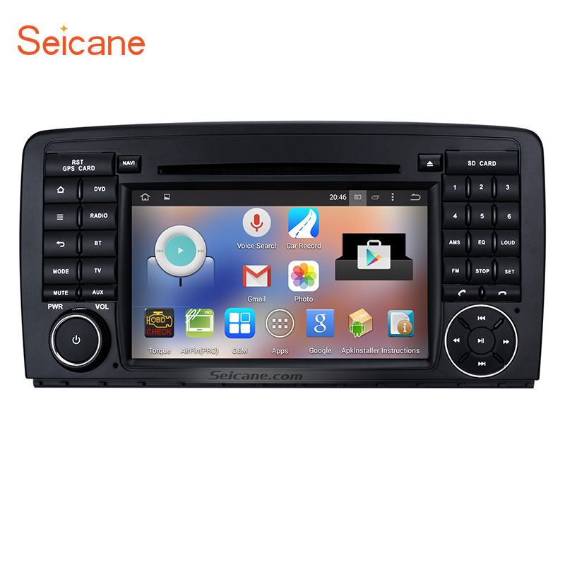 Hottest Android 5.1.1 GPS Audio System for 2006-2013 Mercedes Benz R Class W251 R280 R300 R320 R350 R63 with DVD WiFi Bluetooth(China)