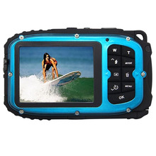 16MP underwater digital video camera, 30ft waterproof, dustproof, freezeproof