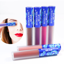 Romantic Bear Matte Liquid Lipstick Long Lasting Rouge A Levre Matte Batom Waterproof Beauty Makeup Labiales Lip Stick