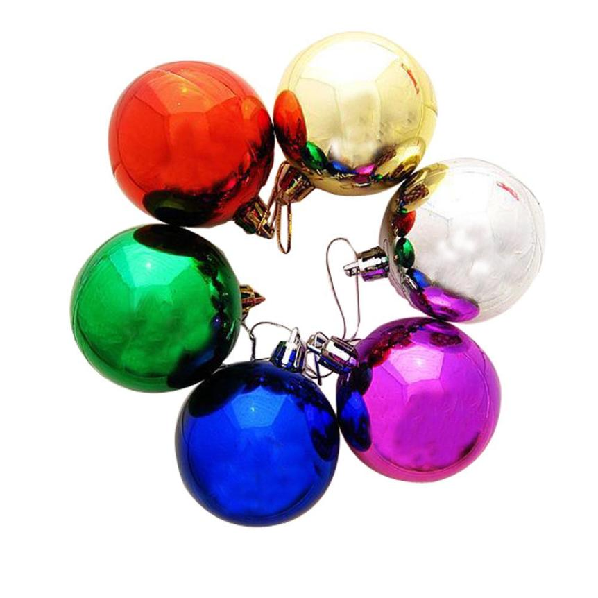 Christmas high quality 3 cm 12PCS Plastic Christmas Tree Decoration Ball Party Wedding Ornament Xmas nt0(China (Mainland))