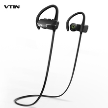VTIN VBT009B Wireless Bluetooth V4.1 Headset Earbuds with Mic Noise Cancelling in Ear bud Earphone Earbud for iPhone Samsung HTC(China)
