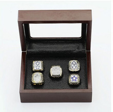 Cost Price Ring sets with Wooden Boxes Replica Super Bowl Copper High Quality 5pcs/Packs Dallas Cowboys sports Championship Ring