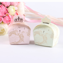 26Pcs Crown Candy Paper Box Wedding Favors and Gifts for Guests Children Birthday Party Decoration Casamento for Christmas Gift(China)