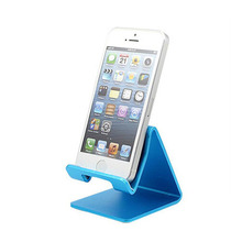 Hot Selling Universal Mobile Phone + Tablet PC Stand Holder Aluminum Alloy Charging Dock Support Cradle Travel Mini Portable(China)