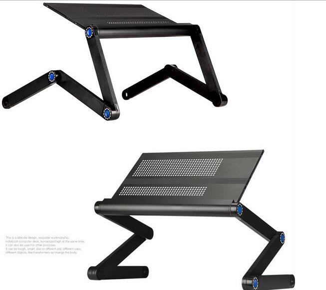 42*25cm Portable bed tablet PC desk Folding Laptop desk  <br>