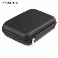 2.5 Inch External Hard Drive Protection Bag Shockproof HDD Case Storage Box Protect for HDD Power Bank Cable Earphone