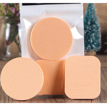 2pcs Pro Foundation Face Makeup Sponges Concealer Flawless powder Puff Smooth Make up Sponge Wholesale cosmetics Kit