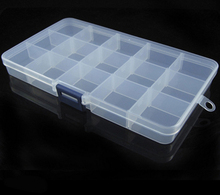 12 Compartment Storage Box Earring Jewelry Bin Case Container Sewing box Storage Box Rhinestone NailArt Tips Adjustable