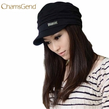 Chamsgend Newly Design Fashion Bouffancy Unisex Army Military Cap Flat -Top Hat Student Hat Vintage Navy May22 Drop Shipping(China)