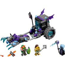 Lepin Bela 10591 Pogo Nexus Knights Ruina Lock Roller Minidolls Girls Model Building Blocks Bricks Toys Compatible Legoe Toys(China)