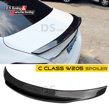 Mercedes W205 Spoiler Tail wing Carbon Fiber 4-door Sedan Replacement PSM Style For Mercedes C Class W205(China)