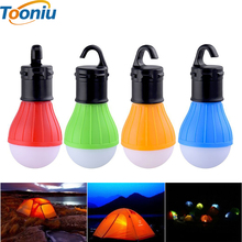 Soft Light Outdoor Hanging 300lm LED Camping Tent Light Bulb Fishing Lantern Lamp Wholesale free shipping(China)