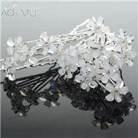 AOMU-20-pcs-lot-Clear-Crystal-Rose-Flower-Hairpins-U-Shape-Hair-Pins-Wedding-Bridal-Hair.jpg_640x640_