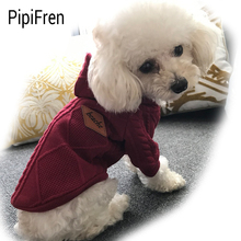 PipiFren Small Dogs Clothes Hoodies Coat For Pets Costume Chihuahua Yorkies Cats Clothing Dog Cloth vetement chien cachorros(China)