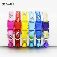 BENMEI Cartoon Anime Nylon Band Dog Pets Collar Night Necklace Adjustable Various Colors Necklace Animal Puppy Cat Collar