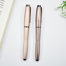 Metal Brand RollerBall Pen Luxury Romantic Roller Canetas for Writing Gift Customize Engrave Logo Free shipping 275