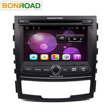 Quad Core 2G RAM Android 6.01 Car DVD Player For SSANGYONG KORANDO 2010-2012 With 1024*600 Capacitive Autoradio Stereo Headunit