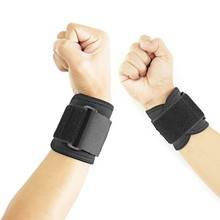 1pc Adjustable Elastic Wrist Support Bracer Protect Wrapping Strap Reliable Weight Lifting Cuff Wrist Guard Bandage