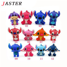 JASTER USB flash drive 4GB/8GB/16GB/32GB Genuine cartoon U disk cute thumb memory stick stitch pen drive usb flash