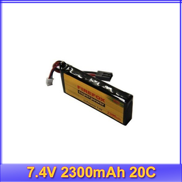 100% Orginal FireFox 7.4V 2300mAh 20C Li Po AEG Airsoft Battery<br><br>Aliexpress