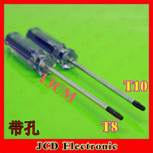 1X FOR Xbox360 game disassemble Screwdriver tools T8 T10 with hole (-) (+) (Y) 3.0 Hexagon Phillips screwdriver