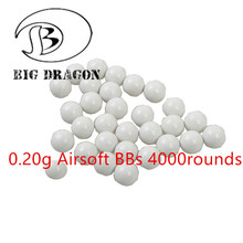 Emerson 4000pcs/bag 0.20g Shooting Airsoft BBs Paintball Accessories CS Games BB Balls Paintball Training Gear BD3021