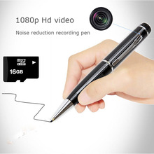 Sound recording pen portable high definition voice recording and video camera 1080P outdoor sports plug-in card camera mini came