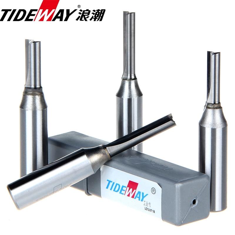 1/2*2*6 Woodworking Router Bit Arden Tungsten Carbide CNC Cutter TCT Straight Bit Tideway 3137<br><br>Aliexpress