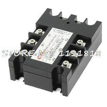 3.5-32VDC/480VAC 80A DC to AC 3 Phase SSR Solid State Relay w Indicator Light(China)