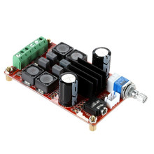Digital Power Amplifier Board  Audio Type: TPA3116D2 Input Voltage: DC 5V~DC 24V Output Power: 2 x 50 W Operating Frequency: 20H