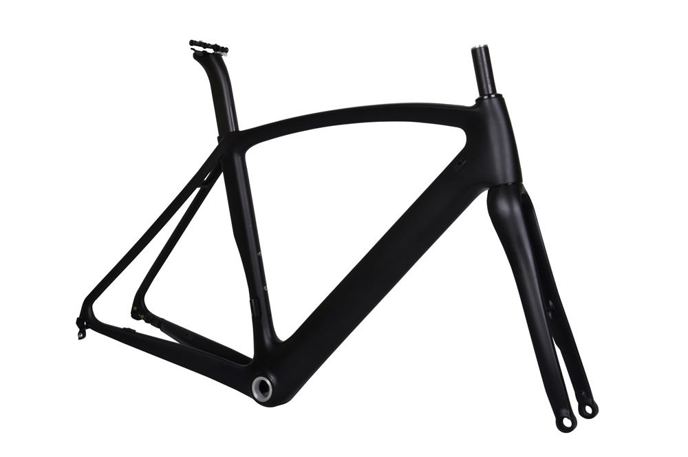 "UD Matt Carbon Road Bike Fork Bicycle Road Tapered Carbon Fork 1-1//8/""/&1-1//2/"""