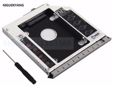 With bezel + Bracket 2nd HDD SSD SATA hard drive Caddy Adapter for HP EliteBook 8460P 8460W 8470P 8470W